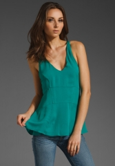 Seymour racerback tank by Elizabeth and James at Revolve