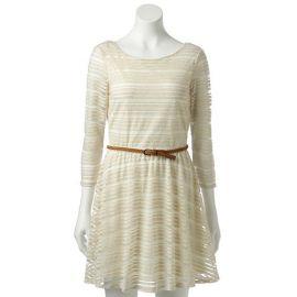 Shadow Striped Dress at Kohls