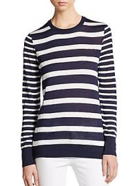 Shane Nautical Stripe Sweater by Equipment at Saks Off 5th