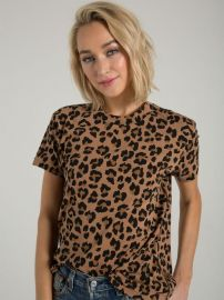 Shanghai Tee in Leopard at n:Philanthropy