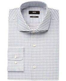 Sharp-Fit Multi Check Shirt by Hugo Boss at Nordstrom