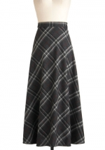 Shauna's checked skirt from Modcloth at Modcloth