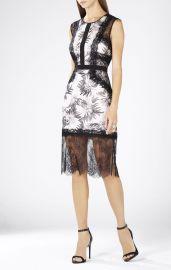 Shawna Lace Applique Dress at Bcbg