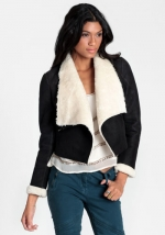 Shearling jacket from Threadsence at Threadsence