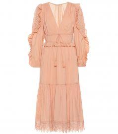 Sheila cotton-blend dress at Ulla Johnson