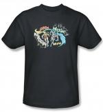 Sheldon's black batman shirt at Amazon