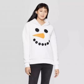 Sherpa Hooded Snowman Ugly Holiday Sweatshirt by Target at Target