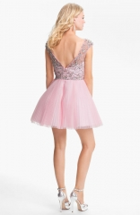 Sherri Hill Fit and Flare Dress at Nordstrom