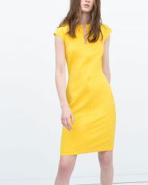 Shift dress at Zara