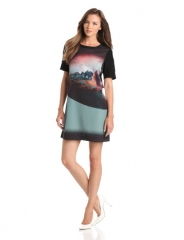 Shift dress by Cynthia Vincent at Amazon