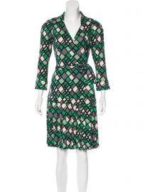 Shilo Silk Wrap Dress at TheRealReal