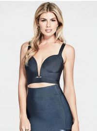 Shiloh Bandage Crop Top at Guess