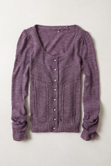 Shimmer Palette Cardigan at Anthropologie