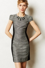 Shimmered Hourglass Dress at Anthropologie