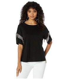 Shimmy Chain Fringe Tee at Zappos