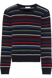 Shirley striped cashmere sweater at The Outnet