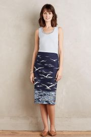 Shorebird Pencil Skirt at Anthropologie