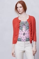 Shoreline scallop cardigan from Anthropologie at Anthropologie