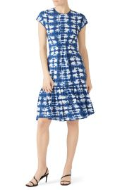 Short Sleeve Tie Dye Dress by Proenza Schouler at Rent The Runway