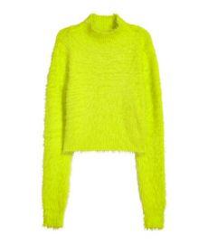 Short Mock Turtleneck Sweater  at H&M