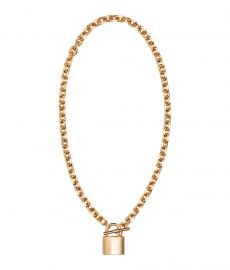 Short Necklace in gold at H&M