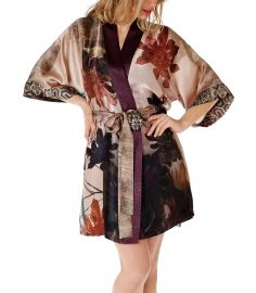 Short Phoenix Robe at Christine Lingerie