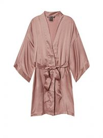 Short Satin Kimono at Victorias Secret