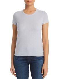 Short Sleeve Cashmere Sweater by C by Bloomingdales at Bloomingdales