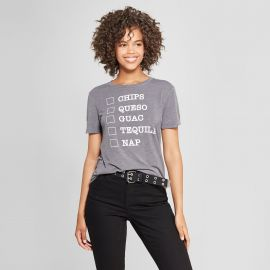 Short Sleeve Chips, Queso, Guac, Tequila, Nap Graphic T-Shirt by Target at Target