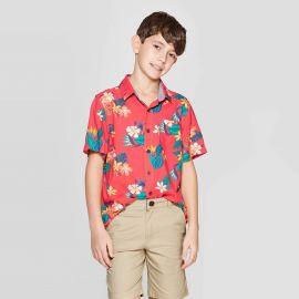 Short Sleeve Hawaiian Button-Down Shirt at Target