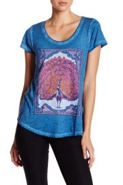 Short Sleeve Peacock Tee by Lucky Brand at Nordstrom Rack