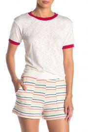 Short Sleeve Ringer T-Shirt at Nordstrom Rack