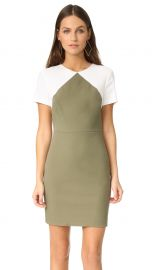 Short Sleeve Tailored Sheath Dress at Shopbop