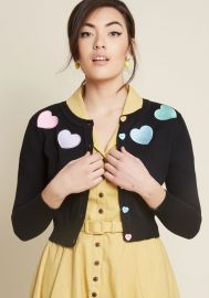 Short and Sweetheart Cropped Cardigan by Collectif at Modcloth at Modcloth