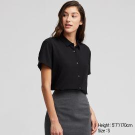 Short sleeve blouse at Uniqlo