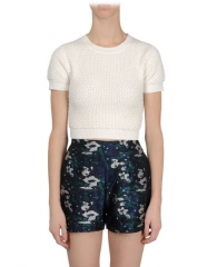 Short sleeve sweater by Opening Ceremony at The Corner