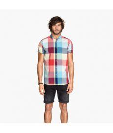 Short-sleeved Poplin Shirt at H&M