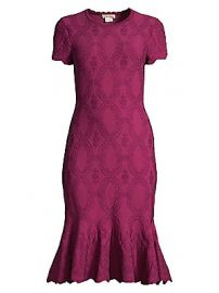 Shoshanna - Preston Embroidered Flounce Dress at Saks Fifth Avenue