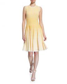 Shoshanna Larina Sleeveless A-Line Dress at Neiman Marcus