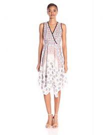 Shoshanna Women s Tiles Print Emmy Dress at Amazon
