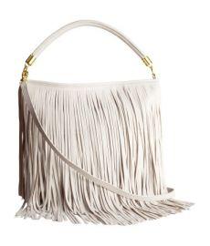 Shoulder Bag in Light Gray at H&M