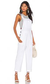 Show Me Your Mumu Dale Overalls in White Linen from Revolve com at Revolve