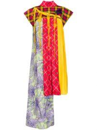 Shuting Qiu Asymmetric Deconstructed Cheongsam Dress - Farfetch at Farfetch