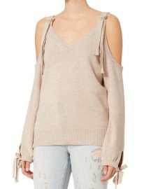 Sia Cold Shoulder Sweater by Exclusive For Intermix at Intermix
