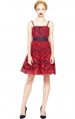 Sia Poof Dress at Alice + Olivia