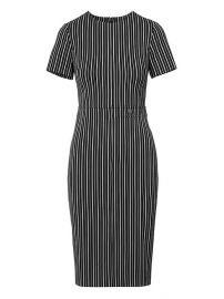Side-Button Bi-Stretch Sheath Dress at Banana Republic