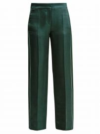 Side-Stripe Satin Trousers by Peter Pilotto at Matches
