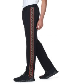 Side-Striped Jersey Joggers by Fendi at Neiman Marcus