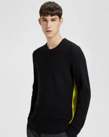 Side Striped Sweater at Theory