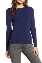 Side tie sweater at Nordstrom Rack